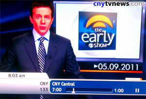 CNYCentral 3.3 has been temporarily replaced by WTVH programming, even on cable.
