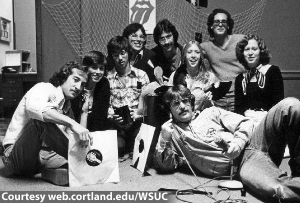WSUC's First Management Team (1976)