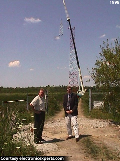 WTNY Tower Rebuild with Bob Ausfeld and Bob Dakin