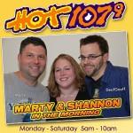Marty & Shannon's Twitter Logo