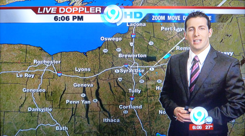 NewsChannel Launches HD Early CNYRadiocom CNYTVNewscom - Wsyr weather forecast