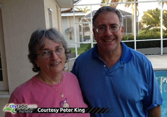 POTW 5/18/12 - Peter King and Judy Manzer (Judy Berman)