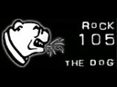 WWDG Rock 105 The Dog Logo