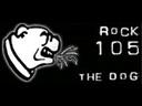 WWDG Rock 105 The Dog Logo