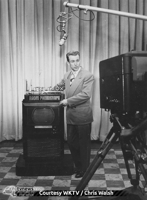 Robert Earle POTW 7/6/12 - From 1949 in WKTV studio