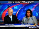 WSTM Matt Mulcahy and Jackie Robinson 9/4/12