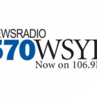 WSYR radio sporting new logo and on-air branding