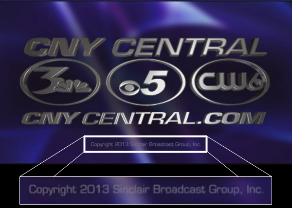 A screenshot from the end of WSTM's 6pm newscast on November 22, 2013 indicates Sinclair has closed on its purchase of the station.