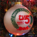 POTW: Classic WTVH Christmas tree ornament