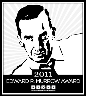 Murrow Awards 2011 Logo