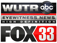 WSYR-TV meteorologist pinch-hits on Utica's WUTR/WFXV