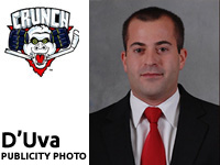 New Syracuse Crunch Radio Voice: Dan D'Uva
