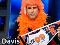 CBS Sports' Seth Davis loses bet with Gomez & Dave