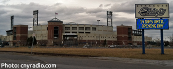 NBT Bank Stadium, home of the Syracuse Chiefs.  March 2013.